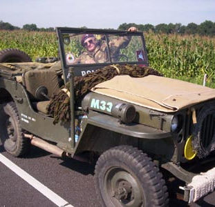 Willys MB 1942, owned by Dave Salisbury
