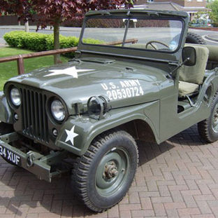 Willys M38A1 Jeep  1953 owned by Mike Scorer
