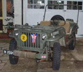 Ford GPW 1942 - Owned by Finlay Skinner