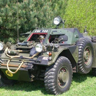 Daimler Ferret mk1, 1955 owned by Shaun Sutton