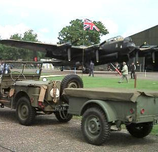 Willys MB and Willys Trailer - 1943 - Owned by Ron & Gwen Worth