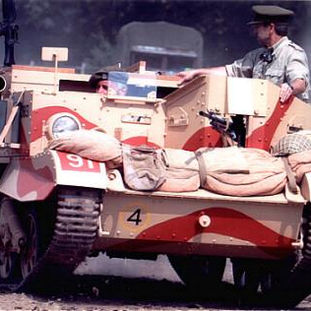 1941 Ford Universal Carrier No.3 MkI, owned by Nigel Watson