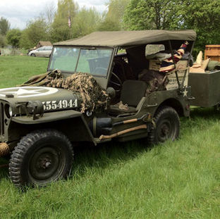 1944 Willys MB owned by Nick Thomas