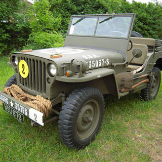1945 Jeep GPW owned by Keith Sherwood