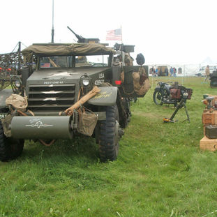 1943 International M5 Half Track - owned by Peter Tipping
