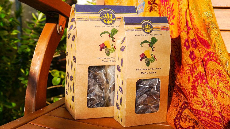 Earl Grey Pyramid Tea Bags
