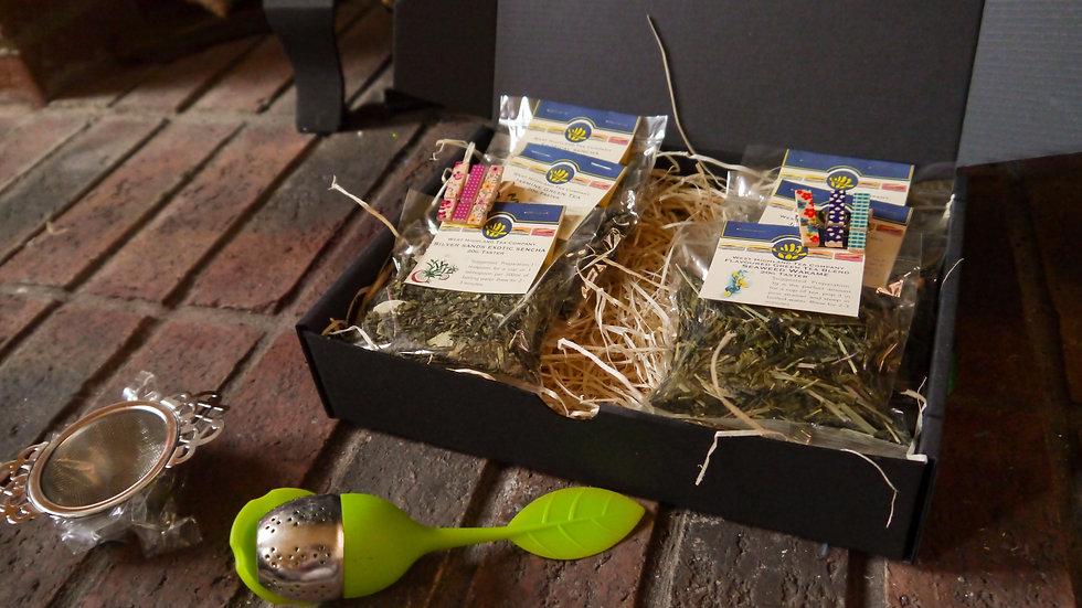 Green Tea Taster Gift Box