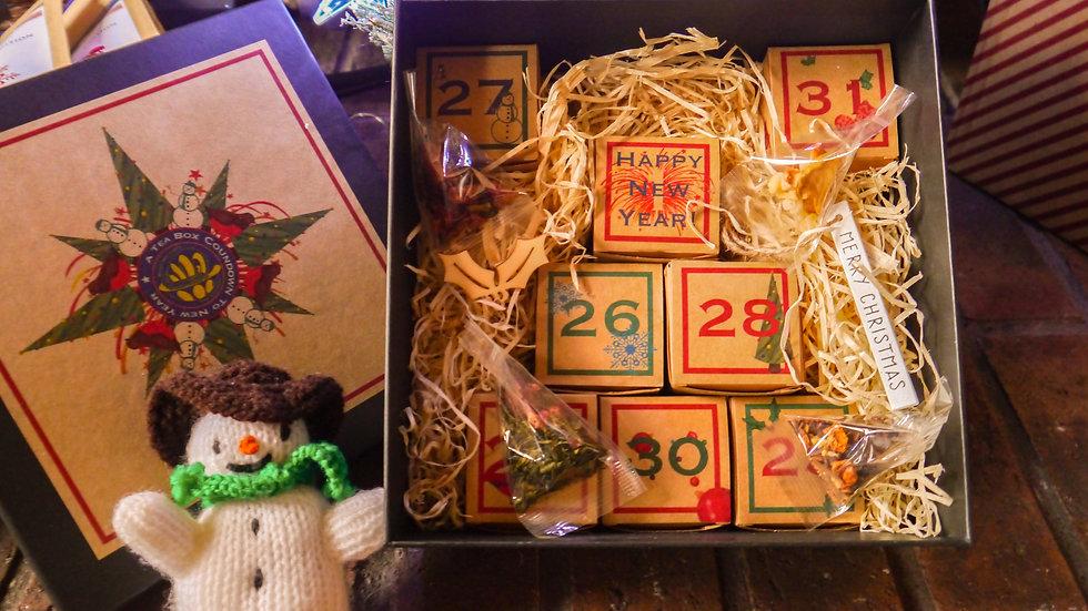 A Tea Box Countdown to New Year