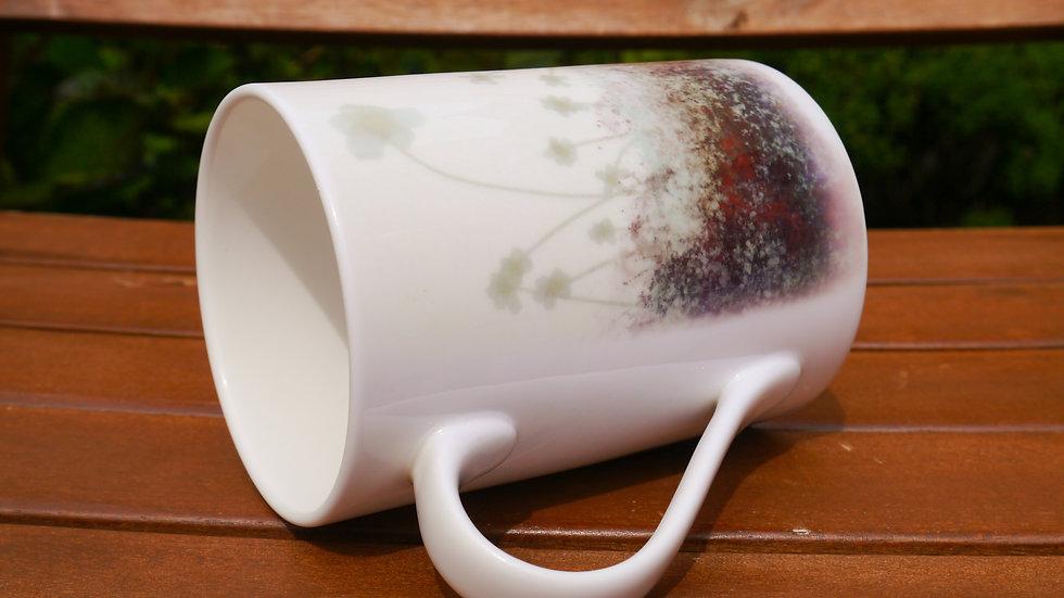 Flower Field Fine Bone China Cup