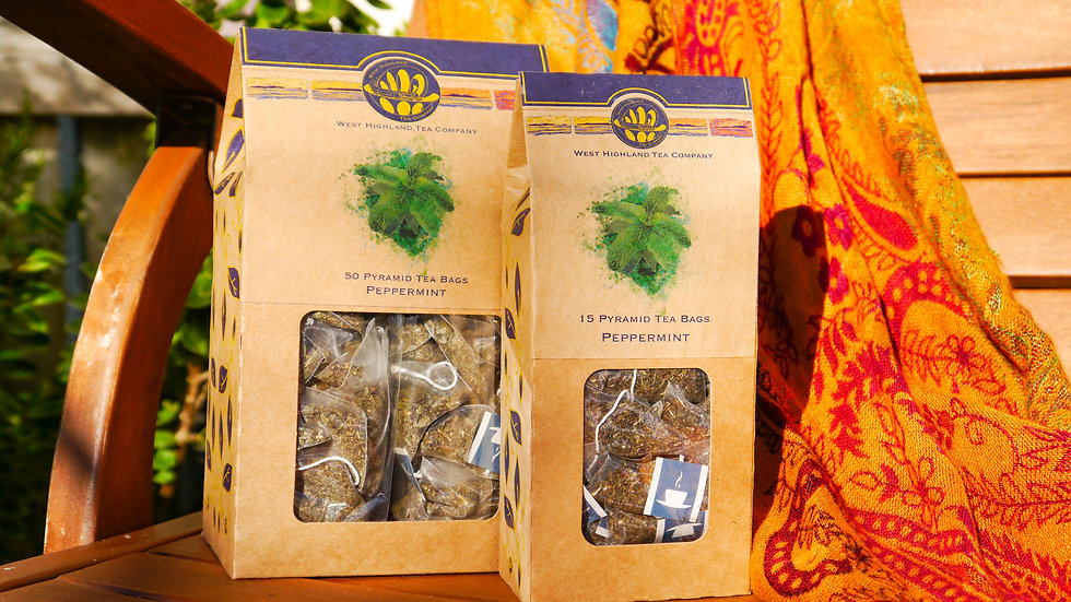 Purely Peppermint Pyramid Tea Bags