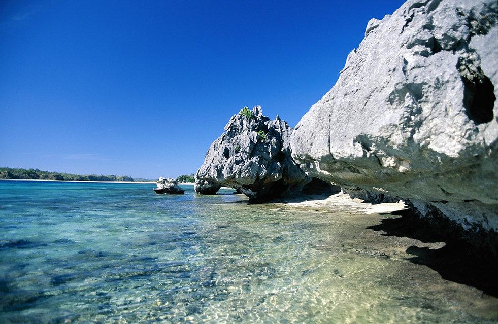 Strand-Felsen