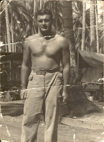 Grandfather Georgia Halpin, in New Guinea Asiatic Pacific Campaign
