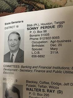 Sonny Perdue (D)