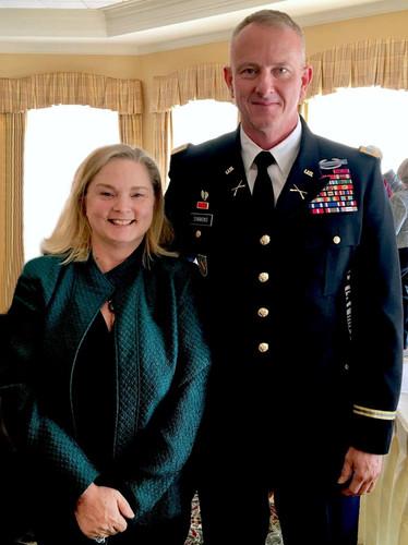 Brigadier General Randall Simmons Jr.  Georgia Army National Guard