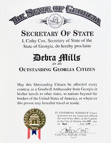 Outstanding Georgia Citizen