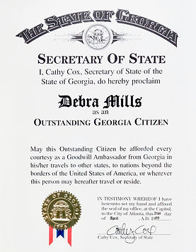 Outstanding Georgia Citizen