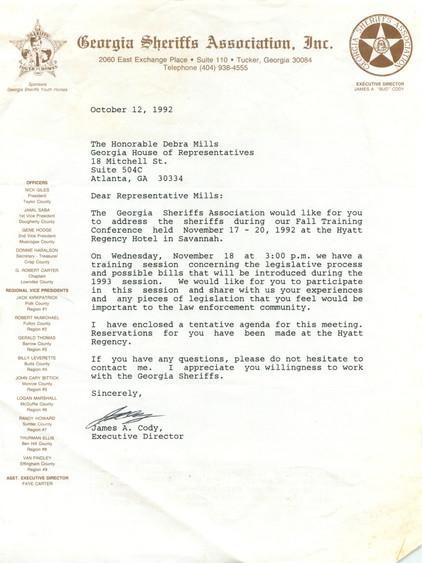 Georgia Sheriffs Association, Inc.