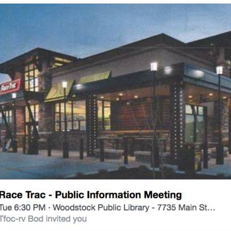 RaceTrac rendering community pushed for this architectural design on Sixes