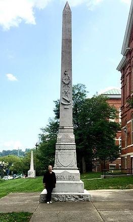 John Sevier - Debras great + grandfather First Governor of Tennessee