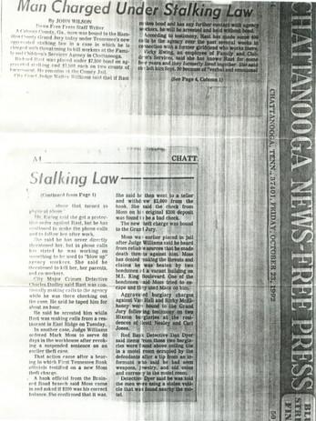 Stalking Crime Bill Citizen Letter News Attachment