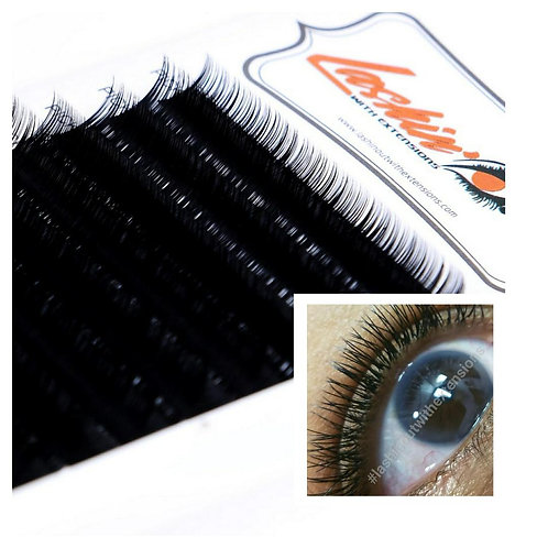 Silk Strand by Strand Lashes, Mixed Trays 8mm-15mm,