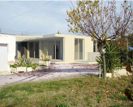 Singular housing in Roseto, Italy, 2010, with Vittorio Fragasso