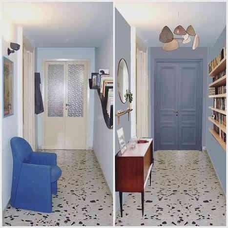 L'appartement bleu de Valeria in Rome