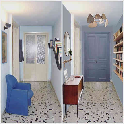 L'appartement bleu de Valeria in Rome