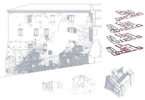 Castel in Miglianico, renovation project, 2008