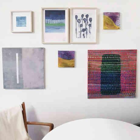 Wall in my studio