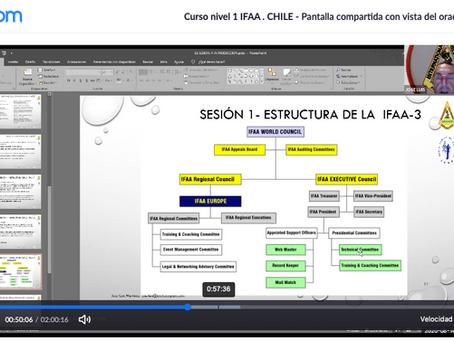 Primer curso de formación internacional de instructores IFAA para nuestro país.