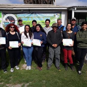 Nuevos instructores se certifican en Arqueros de Chile