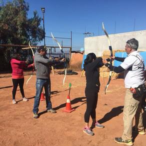 1º curso de iniciación al tiro con arco a realizar en Santiago por Arqueros de Chile 27 abril.