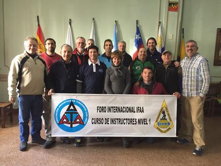 Finalización Curso Técnicos Level 1 IFAA Internacional, Argentina 2018