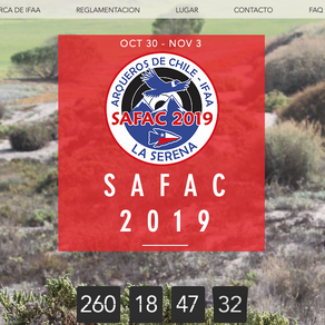 Sitio web oficial SAFAC 2019
