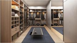 Alton Bay Walk-In Closet