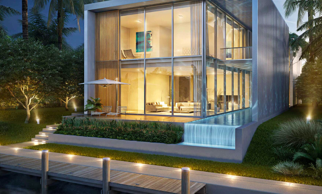 Villa by Pierno Lissoni