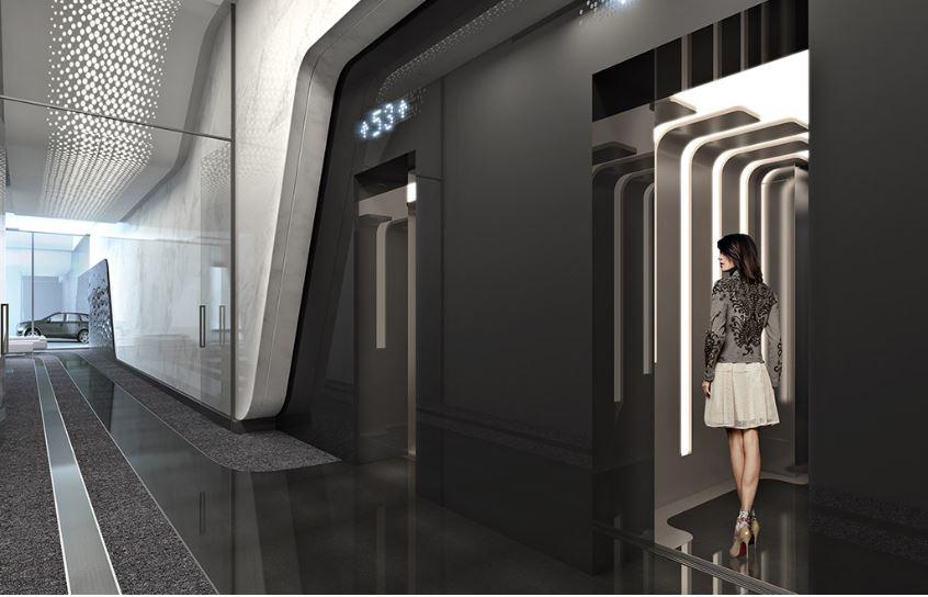 1000 Museum Elevator