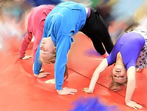 Springbox Gymnastics holiday club photographs