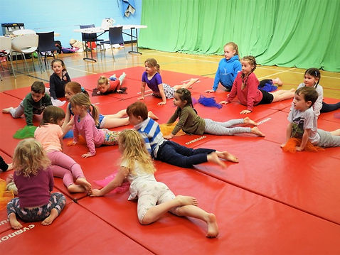 Springbox Gymnastics holiday club photographs