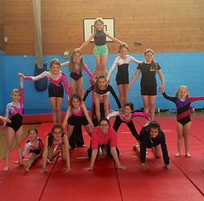 Gymnastics sessions at Springbox