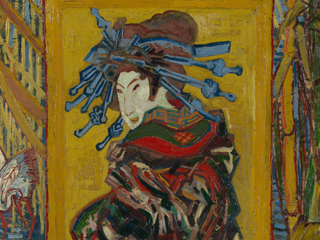 """De """"Japanse"""" schilderijen van Van Gogh"""