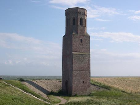 Zelf een toren bouwen en plaatsen in een verlaten landschap....