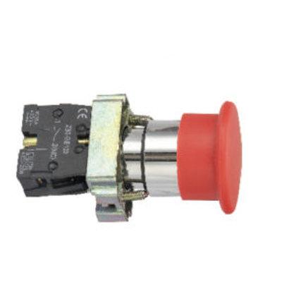 Pulsador de Emergencia Rojo PB2-BC42 Tosun