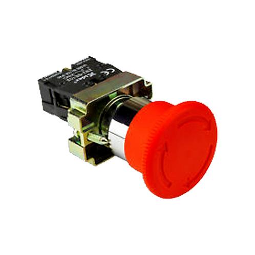 Pulsador de Emergencia Retenido PB4-BS542 Tosun