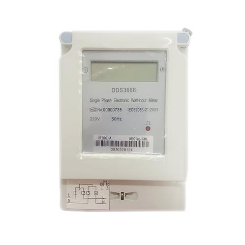 Medidor de energía digital monofásico 220V 10-60A DDS3666 Tosun
