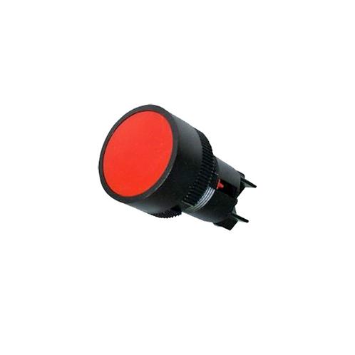 Pulsador Plástico Rojo XB2-EA142 Tosun