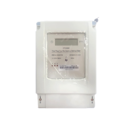 Medidor de energía digital trifásico 220V/380V 30-100A DTS3666 Tosun