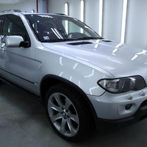 Projekts: BMW X5 salona dīteilings