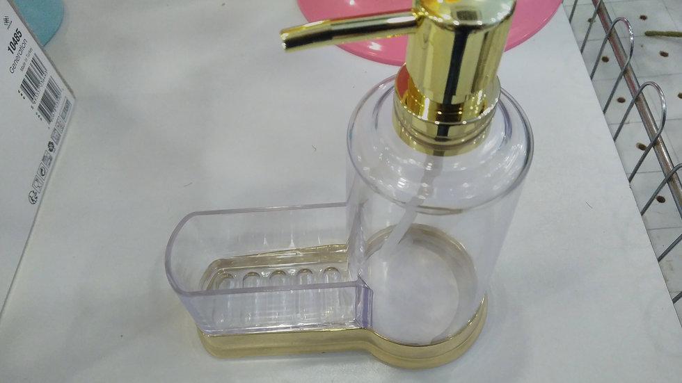 Sıvı sabunluk şeffaf metalik